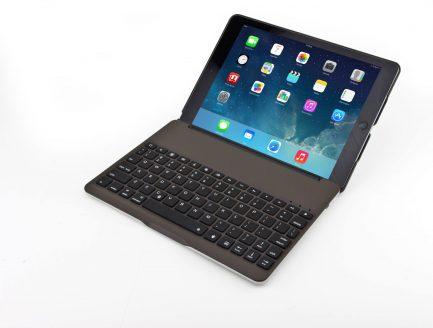 Low price iPad 2017 5TH GEN & iPad Air Smart Bluetooth Keyboard Case 7 Colors Backlit