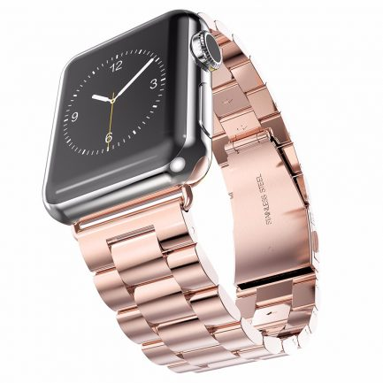 best replacement steel bracelet strap metal band apple watch 123 42mm