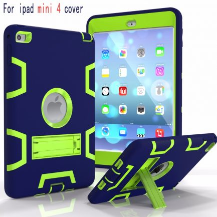 Free delivery iPad Mini 1/2/3 Gex Hybrid Heavy Duty Shockproof Kickstand Case Cover