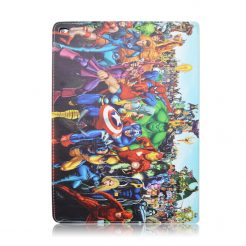 best price IPad Mini 4/3/2/1 Air/Air 2 Pro 9.7/2017 Marvel Superhero Squad Leather Case