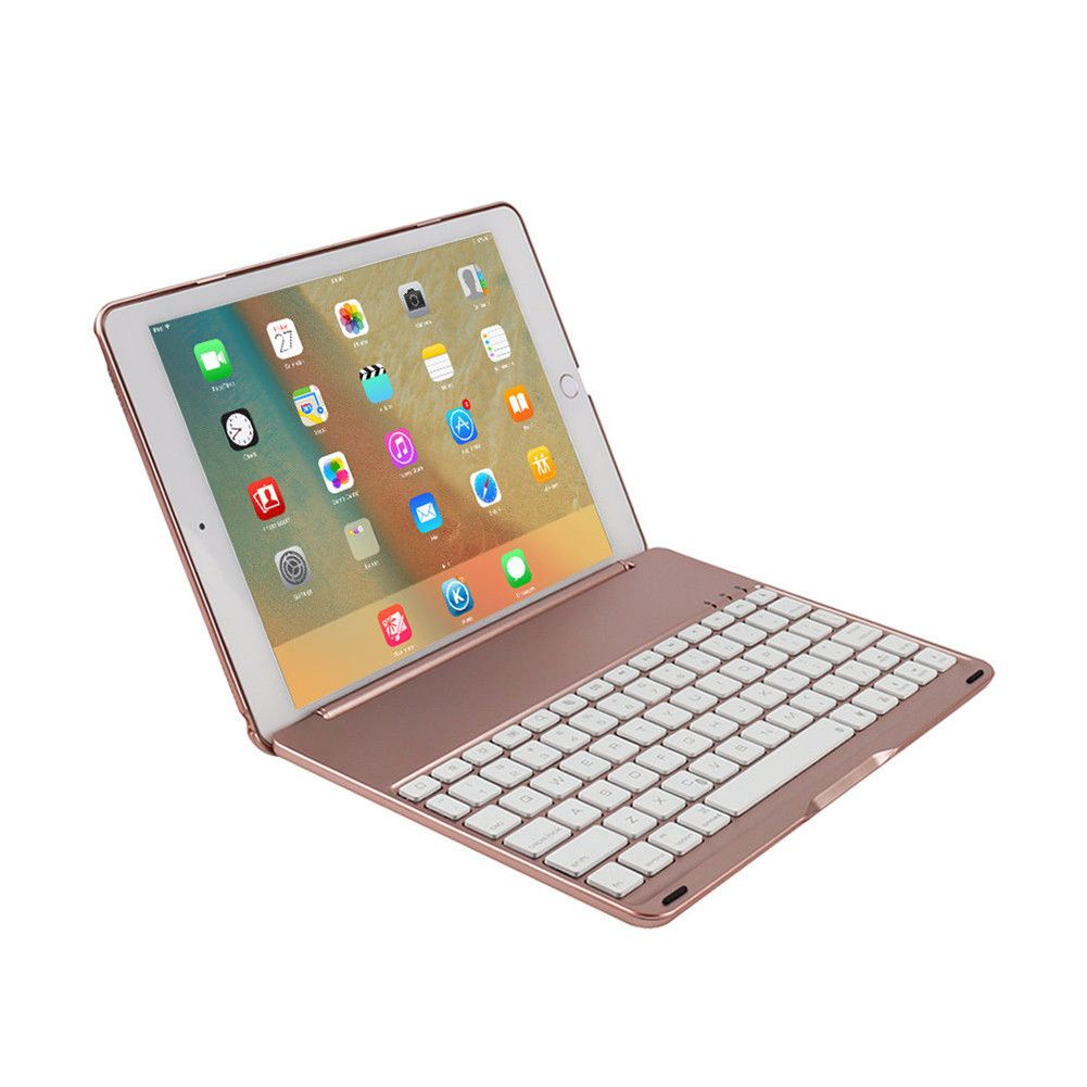ipad 2017 5th gen air smart bluetooth keyboard case 7 colours