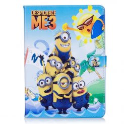 best price IPad Mini 3/2/1 Air/Air 2 Pro 9.7/2017 Despicable Me 3 2017 Leather Case