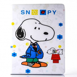 On sale IPad Mini 4/3/2/1 Snoopy Leather Case