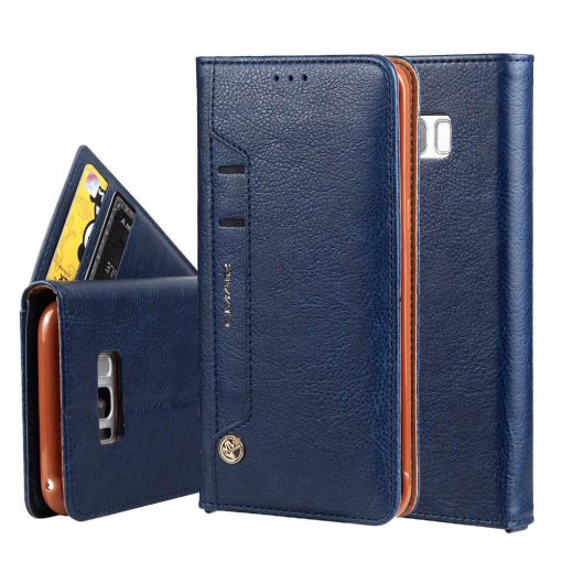 Leather Flip Case Wallet Cover Stand Galaxy S7