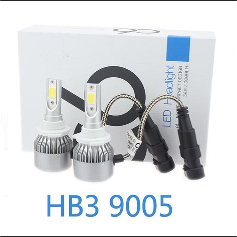 Hb3 9005 50w Led Gex Headlights Conversion Kit 6000k