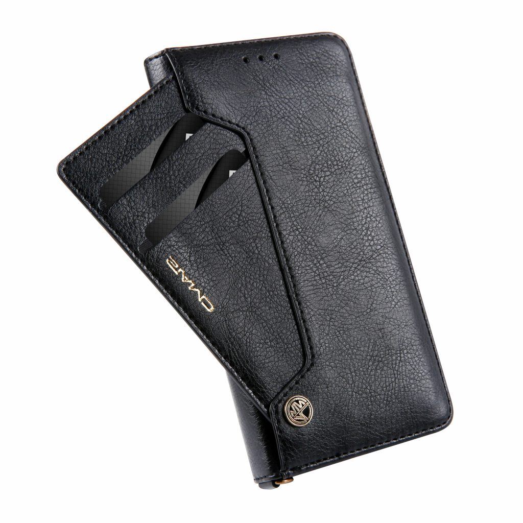 Premium Leather Flip Case Wallet Diary Stand For Iphone X78 Goospery Samsung Galaxy S8 Plus Canvas Gray