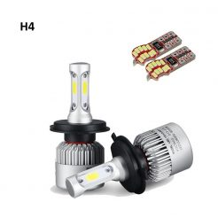 On sale H4 50W LED GEX Headlights Conversion Kit 6000K 7600LM White