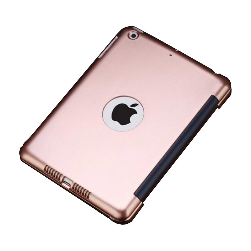 ipad mini 4 wireless bluetooth keyboard case cover rose gold. Black Bedroom Furniture Sets. Home Design Ideas