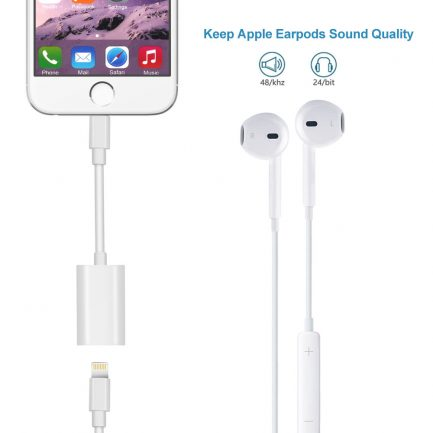 best deals dual lightning for iPhone 8 plus dual adapter