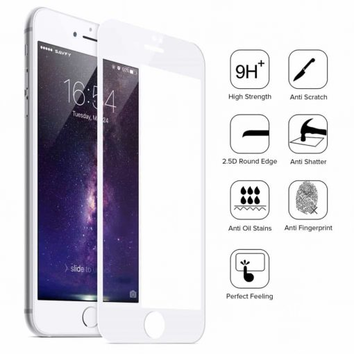 On sale 5D 9H Tempered Glass Full Coverage Protector Apple iPhone 7 Plus