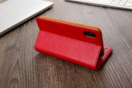 luxury leather folio slim protective wallet diary flip case iphone