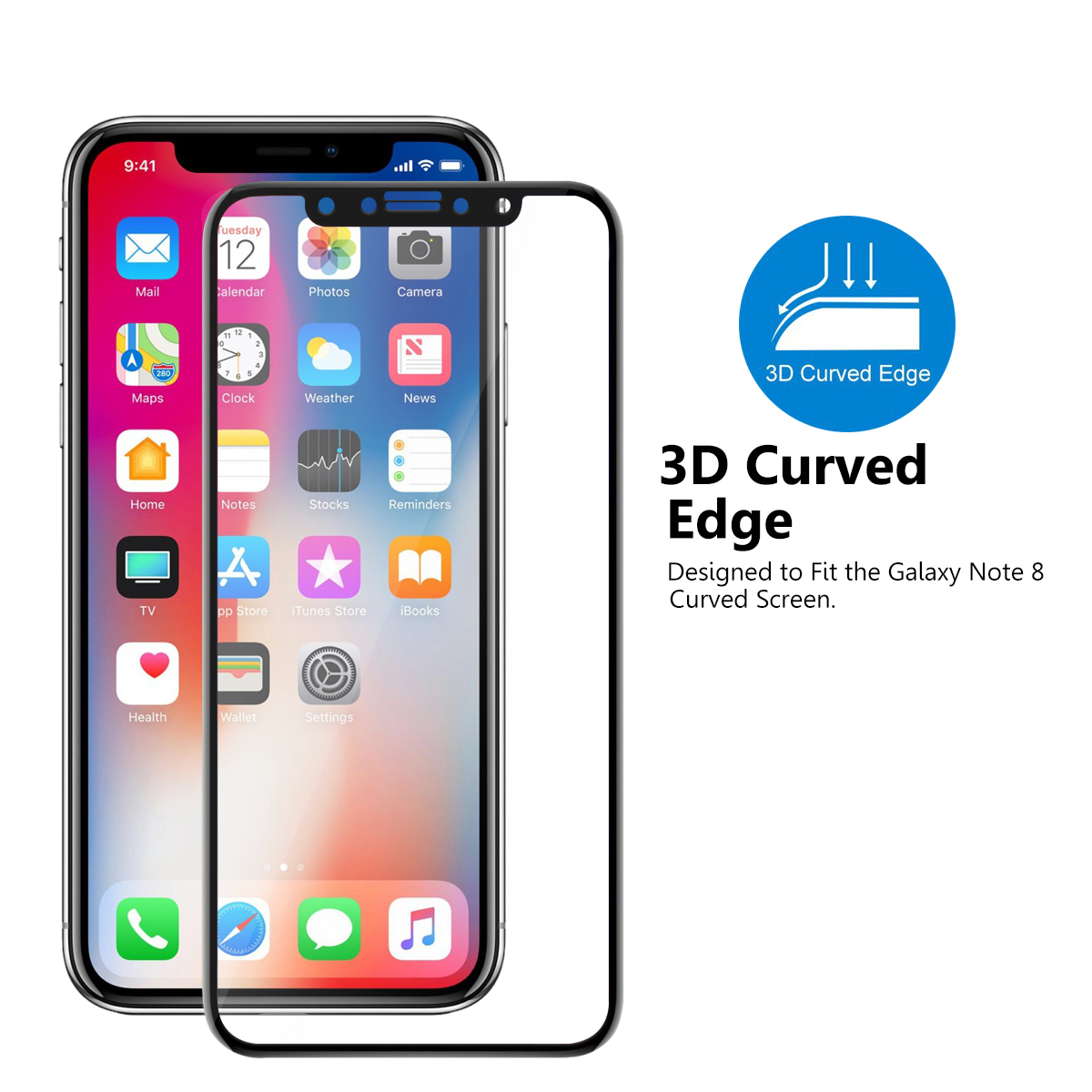 Edge To Edge Screen Protector Iphone S
