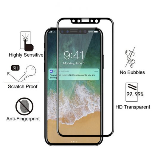 On sale iPhone tempered glass screen protector