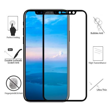 Best deals for iPhone X Genuine Gex Ultra 3D Tempered Glass Screen Protector
