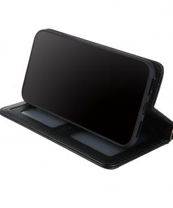 best price Black Gex APPLE IPHONE X Premium Smart Flip Leather Wallet Case