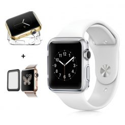 best price Clear Slim Soft Thin Protective Cover Case Apple Watch