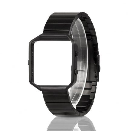 Online best buy stainless steel replcement band fitbit blaze