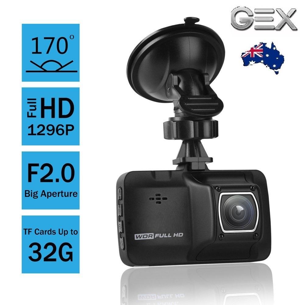 New Gex 1080p Hd Dashcam Dash Camera Motion Detection G Sensor