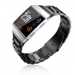 Online sale Solid Stainless Steel Metal Replacement Strap Band Fitbit Ionic