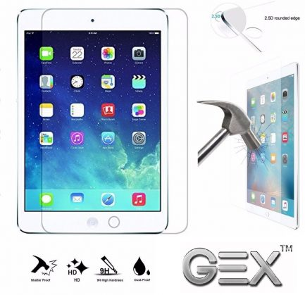 X2 9H tempered glass screen protector ipad pro 5th generation