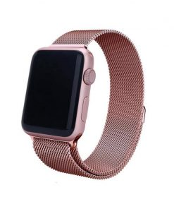 new rose pink milanese loop