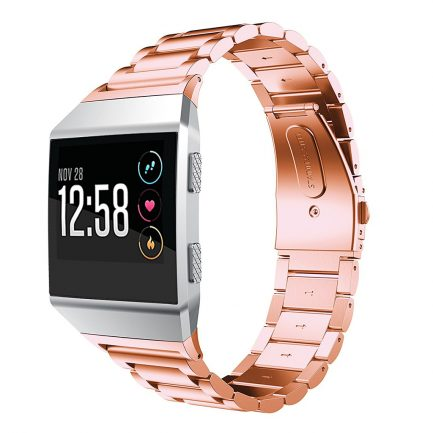 Rose Gold Metal Replacement Strap Band Fitbit Ionic