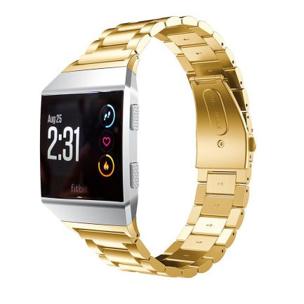 sale on now fitbit gold band metal