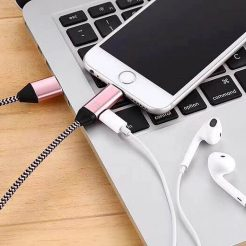 on sale Dual Sleek Charger Headphone Splitter iPhone X 7 8 Plus