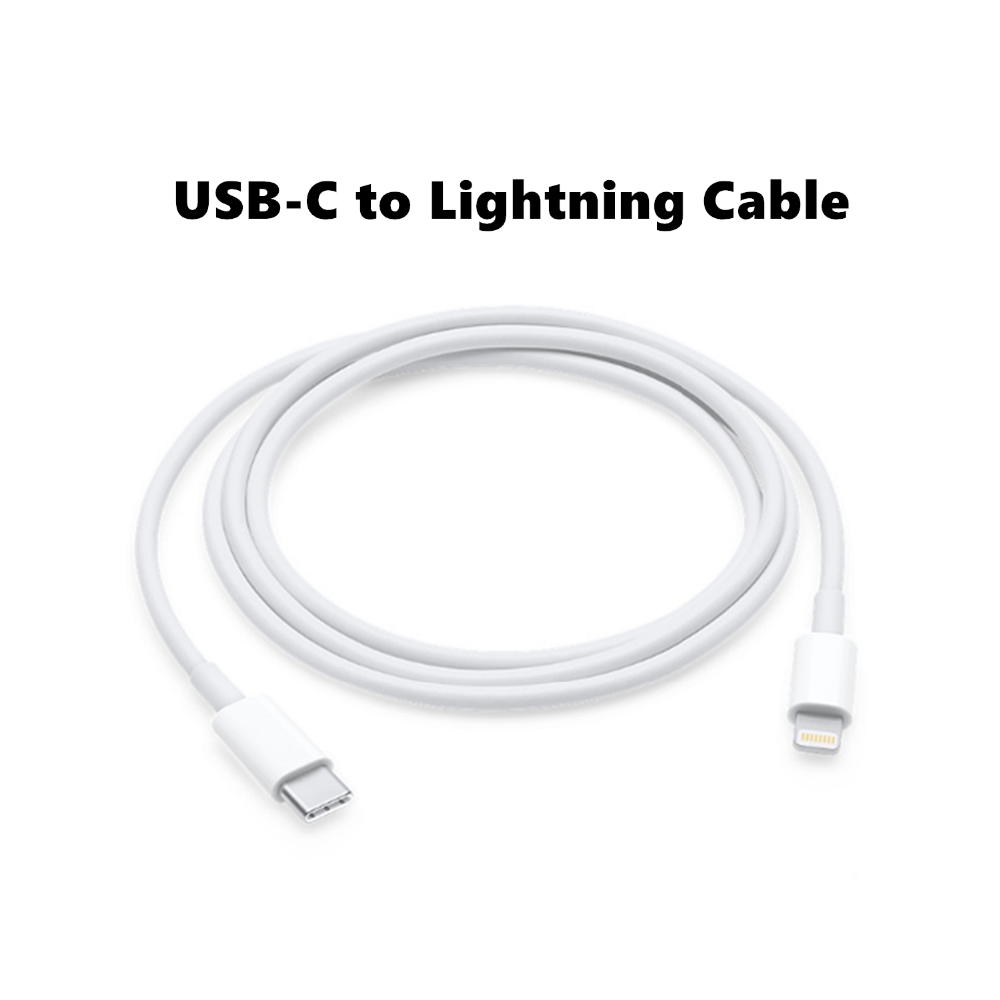 new 1m usb type c lighting cable apple iphone mac pro. Black Bedroom Furniture Sets. Home Design Ideas