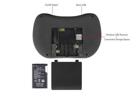 best buy backlit android keyboard remote smart tv iptv pc google