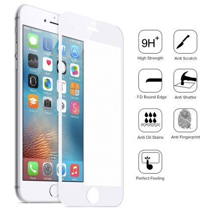 On sale Apple iPhone 8 tempered glass full coverage protector
