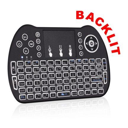 best price backlit android keyboard remote smart tv iptv pc google
