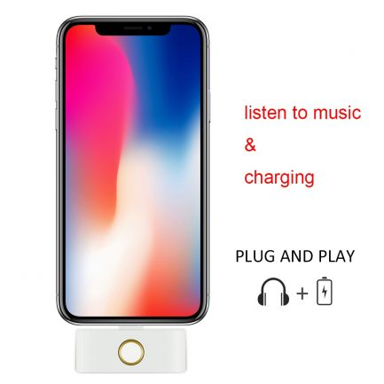 iphone x home button dongle
