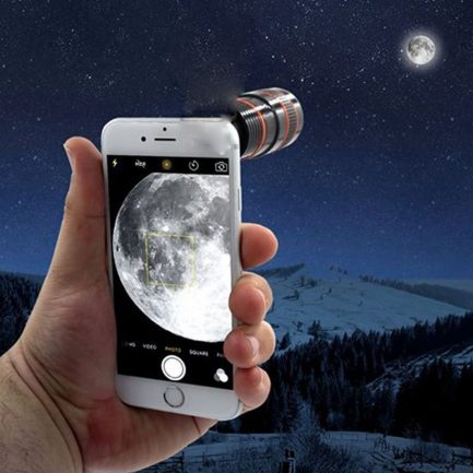 best price new HD zoom phone clip on telescope camera lens iphone android