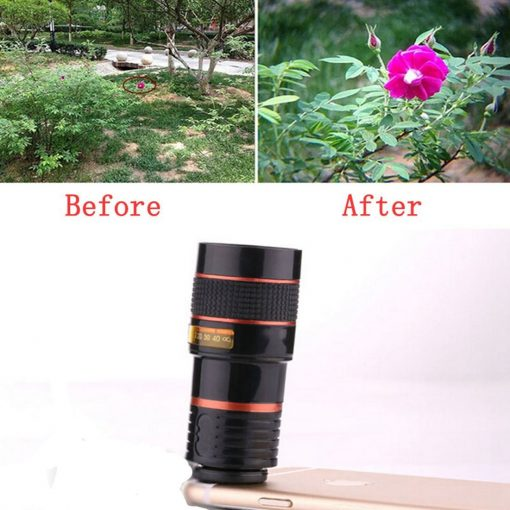 Onsale new HD zoom phone clip on telescope camera lens iphone android