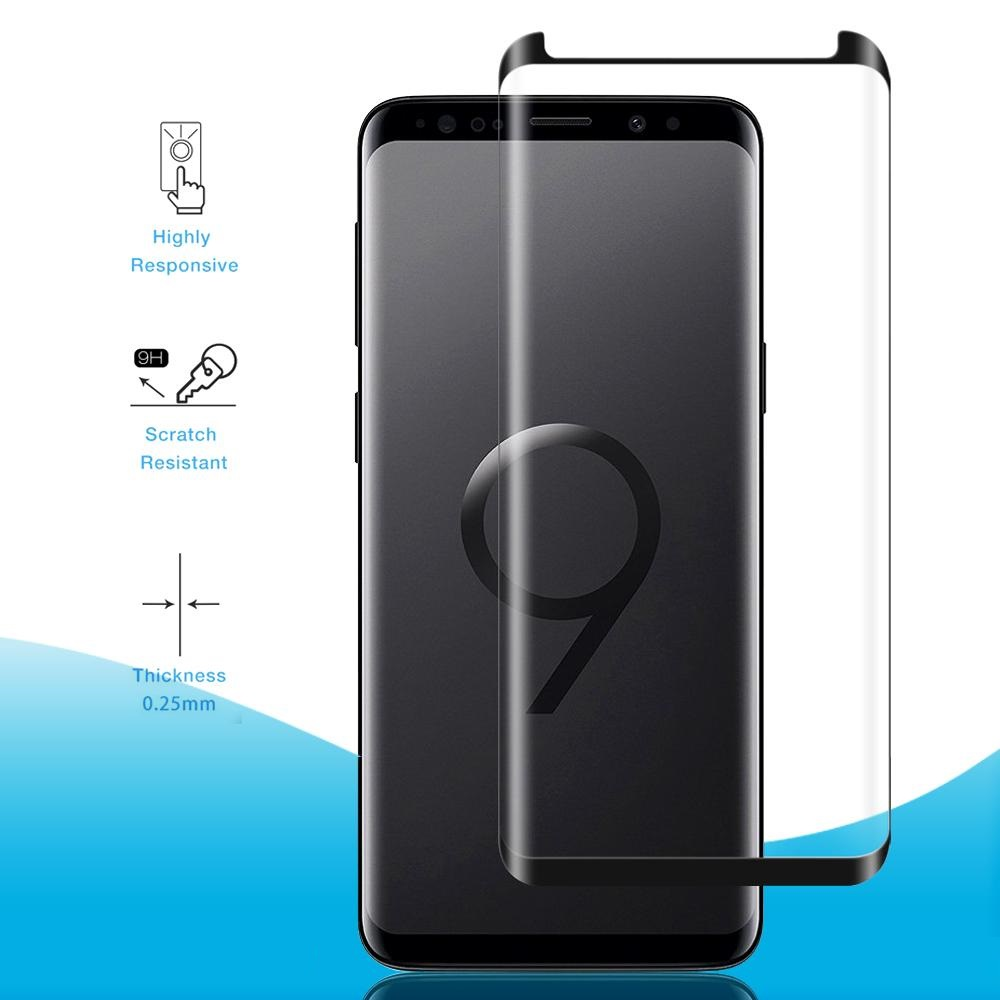 Samsung Galaxy S9 S9 3d Fully Adhesive Glass Screen Protector