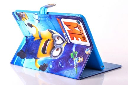 best buy Minion rush leather case ipad mini 1/2/3 Air 2 Pro