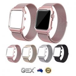 best price Apple iWatch Gex Magnetic Milanese Stainless Band Strap + Frame