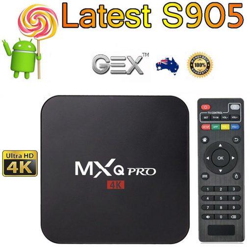 Onsale Gex TV BOX Android 7.1.2 Octa Core 4K Smart Media Player KODI