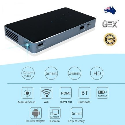 best price Gex Mini 1080P DLP Wireless Home Cinema Display Projector