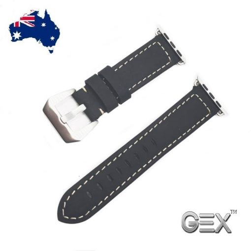 Onsale 38 42mm leather wrist band strap apple iwatch 123 case