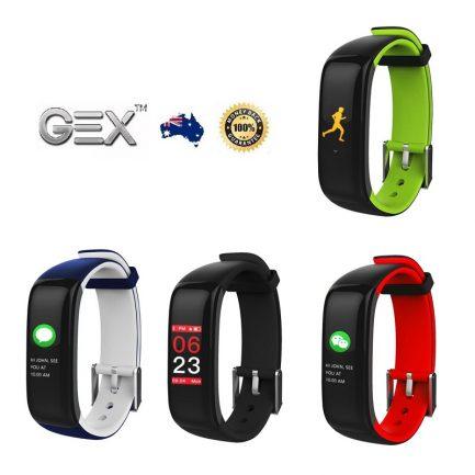 best price Gex Smart Watch Bluetooth Heart Monitor Blood Pressure