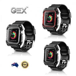 best price Apple Watch Series Gex Armor Rugged Slicone Band Case Cover
