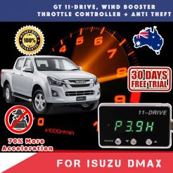 best price New ISUZU DMAX 11-18 Wind Booster Throttle Controller Anti Theft