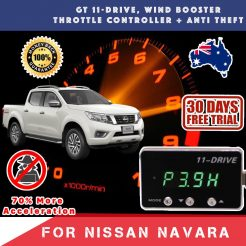 best price New Nissan Navara NP300 Gex Wind Booster Throttle Controller
