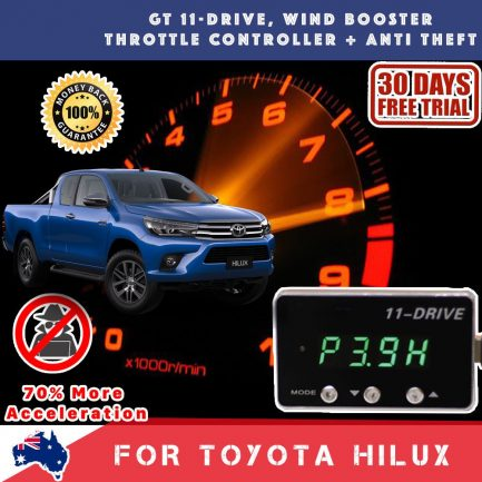 best price New Toyota Hilux 06-18 Gex Wind Booster Throttle Controller Theft