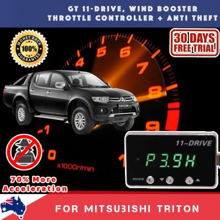 best price New Gex Mitsubishi Triton Wind Booster Throttle Controller Anti Theft