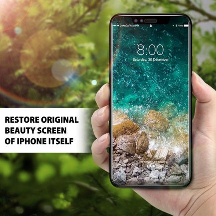 iphone x 5d new tempered glass