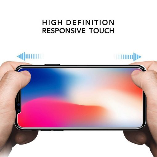 key tempered glass iphone x