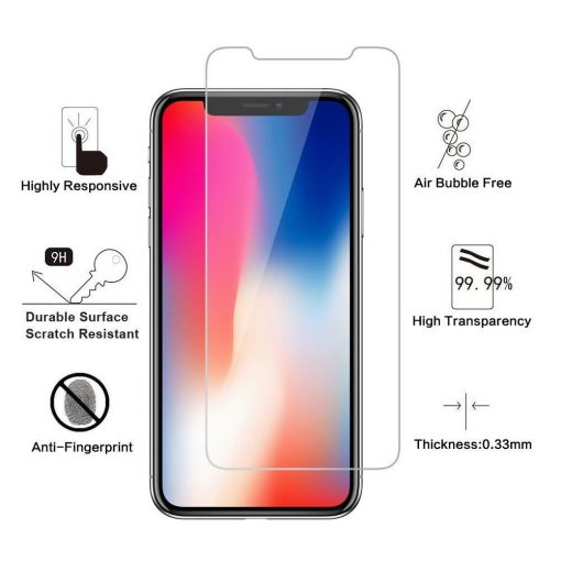 iphone x tempered glass privacy screen protector
